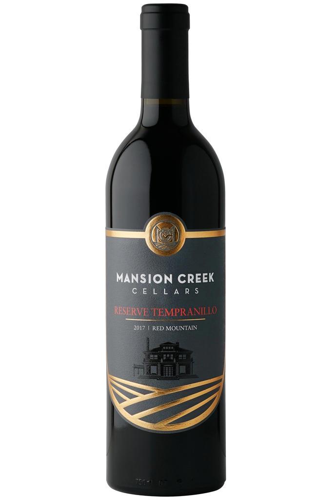 Mansion Creek Cellars Reserve Tempranillo Bottle Preview