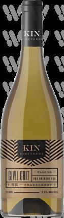 KIN Vineyards Civil Grit Unoaked Chardonnay