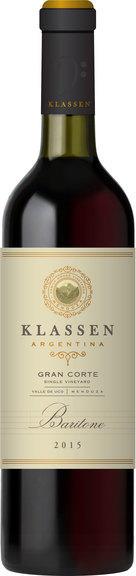 Klassen Wines Baritone Gran Corte Bottle Preview