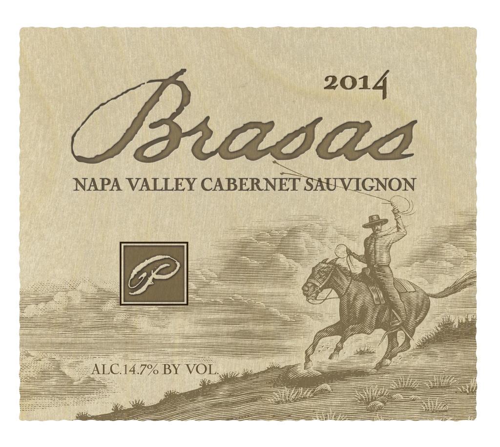 "Palmaz Vineyards Cabernet Sauvignon ""Brasas"" Bottle Preview"