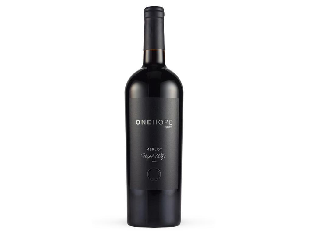 Napa Valley Reserve Merlot Bottle
