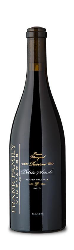 Frank Family Vineyards S&J Vineyard Petite Sirah Bottle Preview