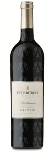 CedarCreek Estate Winery Platinum Desert Ridge Meritage