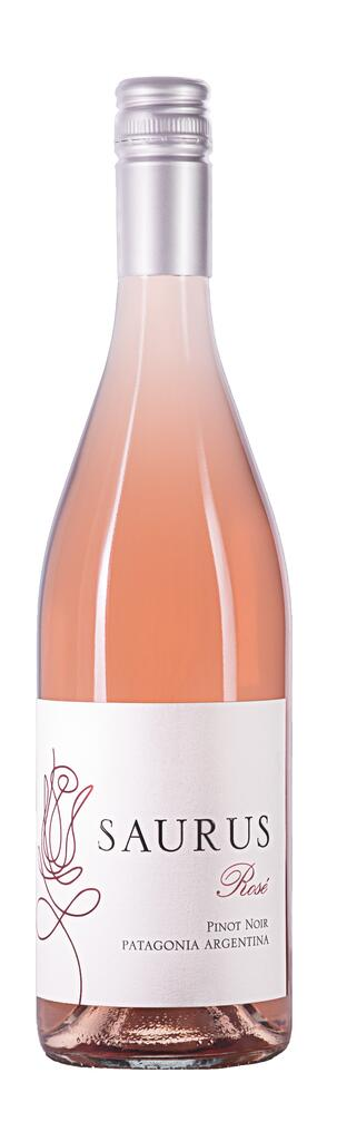 Bodega Familia Schroeder SAURUS Pinot Noir Rosé Bottle Preview