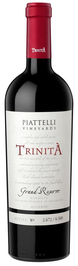 Piattelli Vineyards - Mendoza Trinità Bottle Preview