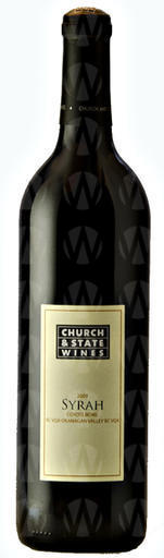 Church & State Wines Coyote Bowl Syrah
