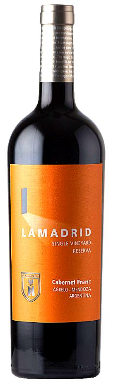 Lamadrid Estate Wines Lamadrid Reserva - Cabernet Franc Bottle Preview