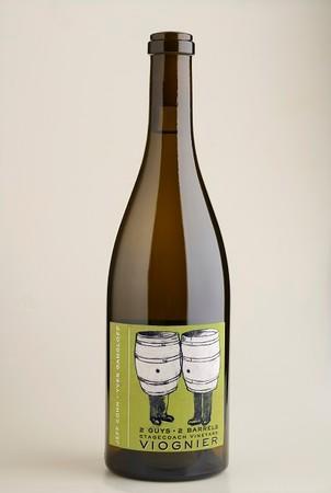 Jeff Cohn Cellars 2 Guys 2 Barrels Stagecoach Vineyard Viognier Bottle Preview