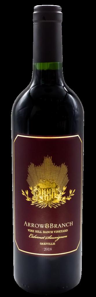 """Arrow&Branch Cabernet Sauvignon """"Vine Hill Ranch Vineyard"""" Bottle Preview"""