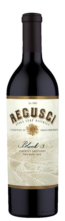 Regusci Winery Block 3 Cabernet Sauvignon Bottle Preview