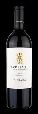 Ackerman Family Vineyards Le Chatelaine Bordeaux Blend Bottle Preview