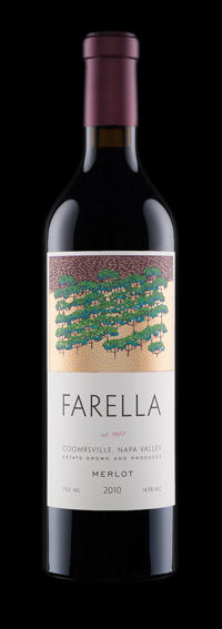 Farella Vineyard Estate Merlot Bottle Preview