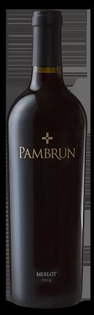 Pambrun Wines Merlot Bottle Preview