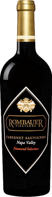 Rombauer Vineyards Diamond Selection Cabernet Sauvignon Bottle Preview
