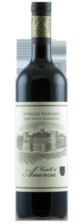 Castello di Amorosa Sangiovese, Voyager Vineyard Bottle Preview