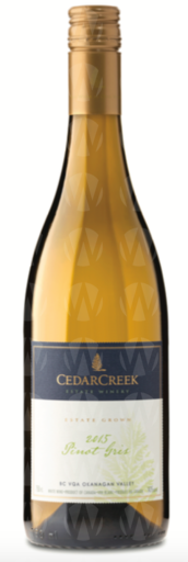 CedarCreek Estate Winery Pinot Gris