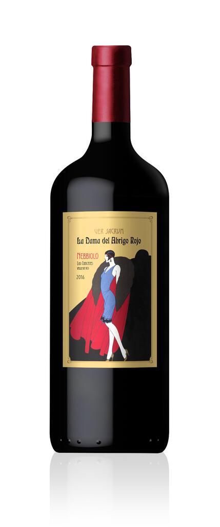Ver Sacrum Wines La Dama del Abrigo Rojo 1.125 Bottle Preview