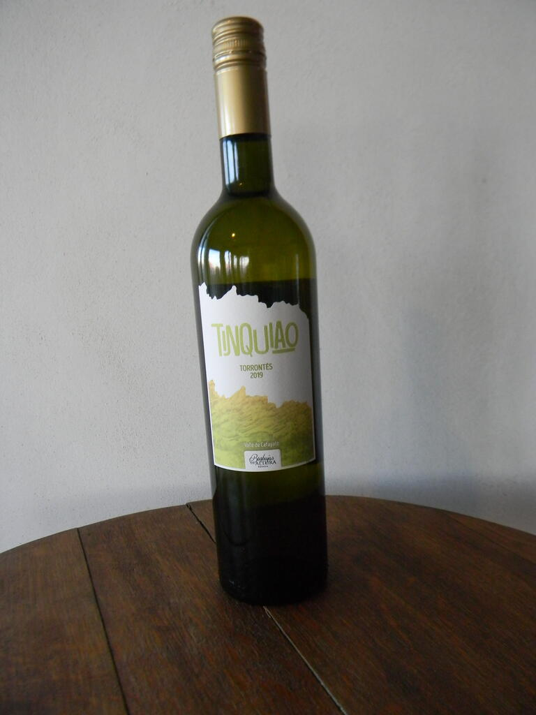 Burbujas de Altura TINQUIAO TORRONTÉS Bottle Preview