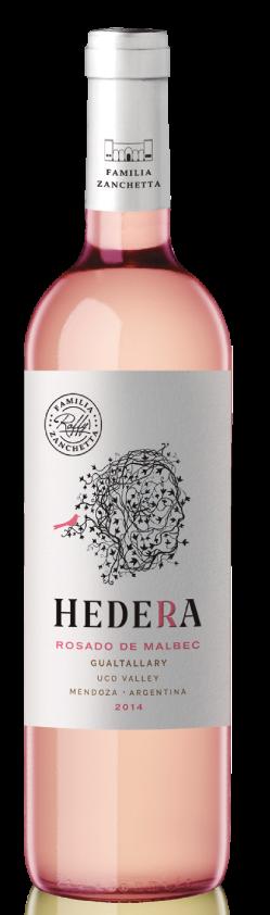 Bodega Raffy Hedera Rosé Bottle Preview