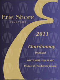 Erie Shore Vineyard Unoaked Chardonnay