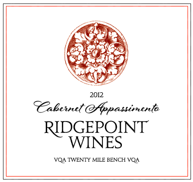Ridgepoint Wines Cabernet Appassimento