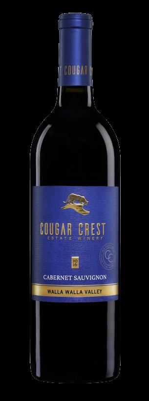 Cougar Crest Estate Winery Cabernet Sauvignon Bottle Preview