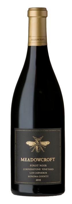 Meadowcroft Wines Cornerstone Vineyard Pinot Noir Bottle Preview
