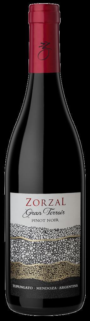 Zorzal Wines Gran Terroir Pinot Noir Bottle Preview