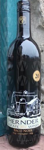 Hernder Estate Winery Baco Noir