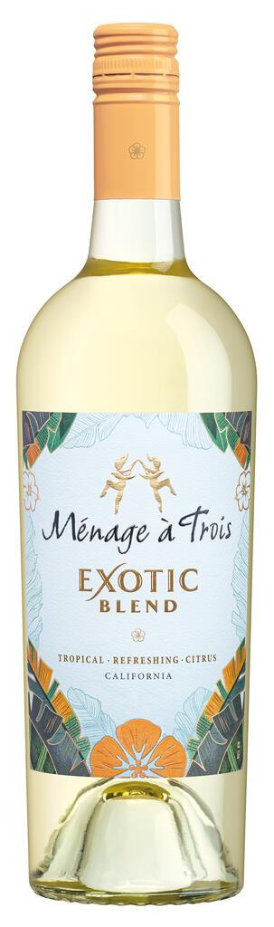 Ménage à Trois Wines Ménage à Trois Exotic Blend Bottle Preview