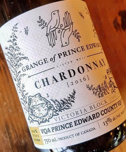 The Grange of Prince Edward Vineyards and Estate Winery Chardonnay 'Victoria Block'