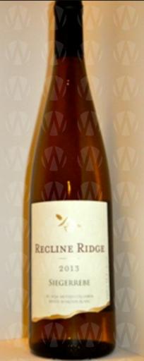 Recline Ridge Vineyards and Winery Siegerrebe