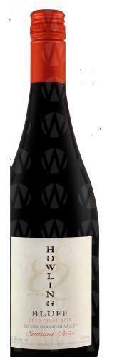 Howling Bluff Estate Winery Summa Quies Pinot Noir