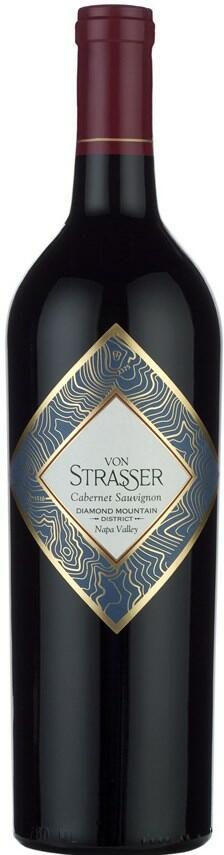 Von Strasser Family of Wines Cabernet Sauvignon Diamond Mountain District Bottle Preview