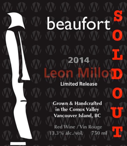 Beaufort Vineyard & Estate Winery Leon Millot