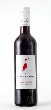 Lake and River River Rock Red