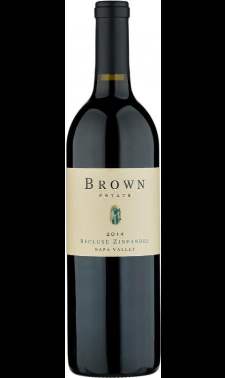 Brown Estate Vineyards Recluse Zinfandel Bottle Preview