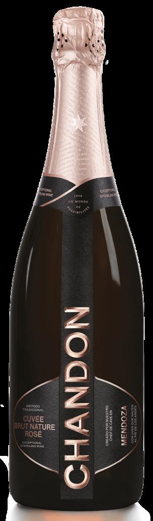Chandon Chandon Cuvée Brut Nature Rosé Bottle Preview