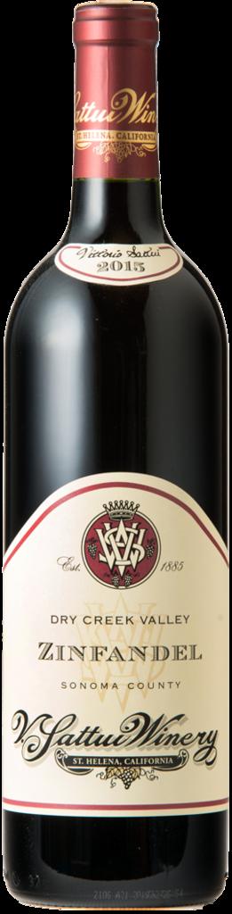 V. Sattui Winery Dry Creek Zinfandel Bottle Preview