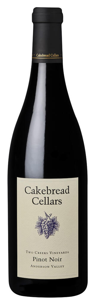 Cakebread Cellars Pinot Noir Two Creeks Anderson Valley Bottle Preview