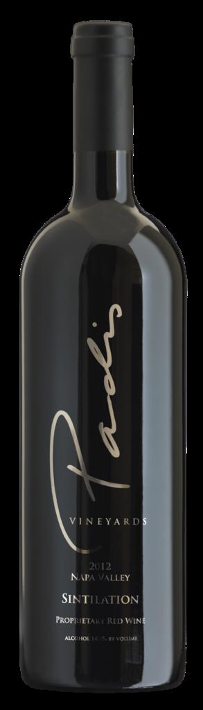 Padis Vineyards Sintilation Bottle Preview