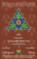 Frogpond Farm Organic Winery Chambourcin