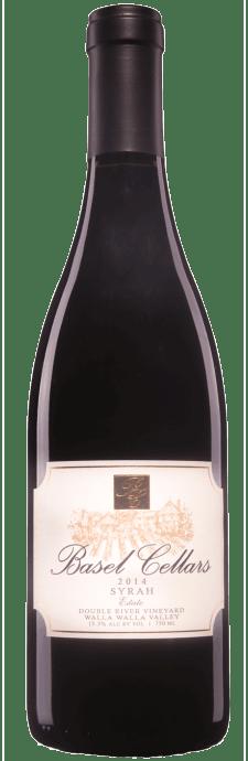 Basel Cellars Estate Winery Syrah Bottle Preview