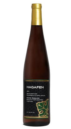 Hagafen Cellars Hagafen Napa Valley White Riesling Wieruszowski Vineyard Bottle Preview