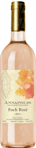 Annapolis Highland Vineyards Foch Rosé