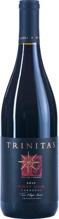 Trinitas Cellars Pinot Noir Bottle Preview