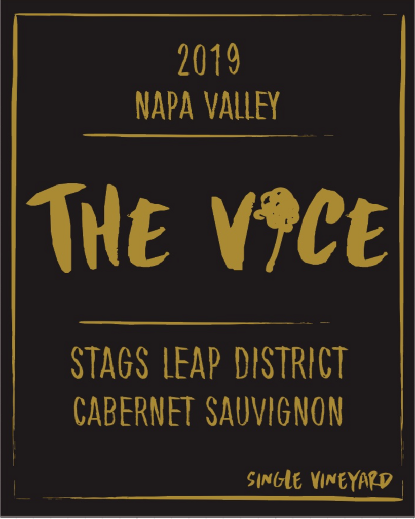 """The Vice Napa Valley Wines Batch #50 """"Mooncrest"""", Cabernet Sauvignon, Stags Leap District of Napa Valley, 2019 Bottle Preview"""