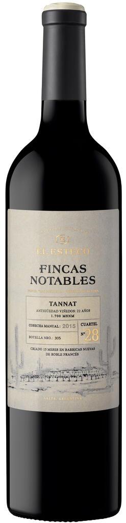 El Esteco Fincas Notables Tannat Bottle Preview