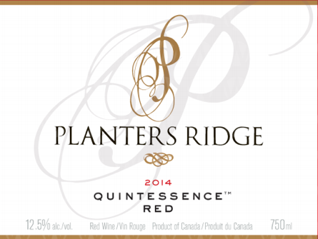 Planters Ridge Winery Quintessence Red
