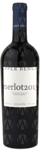 Upper Bench Estate Winery Estate Merlot